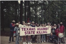 On the road to abolition in central Texas in 19991.