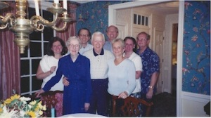In one of her last visits to Washington, Sister Serena is surrounded by some family members in this 2001 photo.